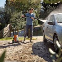 Pressure washes and wet/dry vacuum cleaners