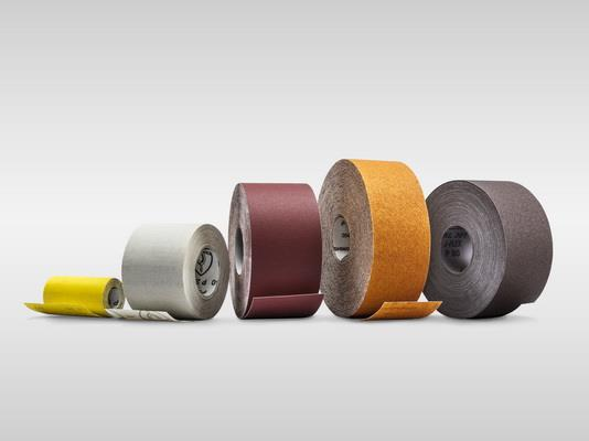 Abrasive cloth and paper