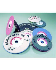 Grinding wheel T3 200x8/3x32 ALFA=45* grey/pink 96A/98A 60/80 LM