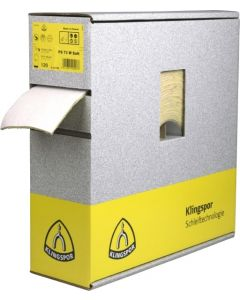 Hiomapaperi  115x 25m grain 400 PS 73BWF foam backing KLINGSPOR 321760