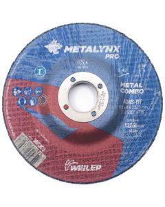 Grinding disc 125x 4.0x22 A24R-BF inox T42 METALYNX 388326