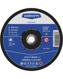 Cutting disc all-purpose, suitable for cutting all types of metal.