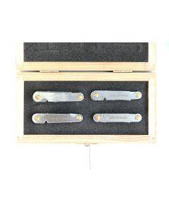 Screw-Pitch-Gauge 55*/60* UNC/UNF/MM/WW-WW/BSF set 4pcs. Art.464.150 SCALA