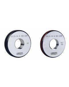 """Thead ring gauge G 1/4""""x19 GO Class A INSIZE 4635-1B19"""