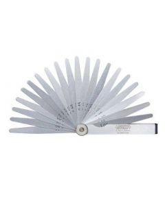 Lehtkaliiber 200 mm (0.05-1.00 mm 13 tk.) INSIZE 4605-131