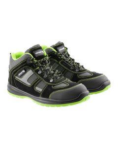 HOSEL safety ankle shoes SB SRA black/green size 43 HT5K564-43 HÖGERT