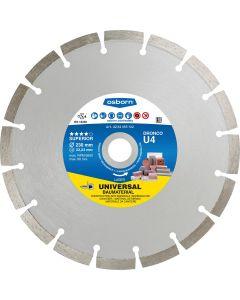 Алмазный отрезной диск  450x3.6x25.4 U4 superior OSBORN/DRONCO 4454190102