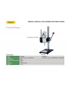 Manual vertical test stand for digital force gages ISF-V10D INSIZE