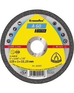 Отрезной круг 125x1.0x22 A 60inox EXTRA KLINGSPOR 262937