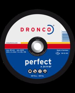 Cutting disc 100x3.0x16 A 24R PERFECT DRONCO 1100015100