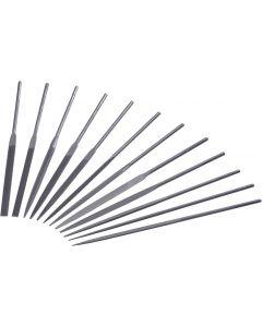 Needle files set 140mm set 12 pcs  STELLA BIANCA 02024