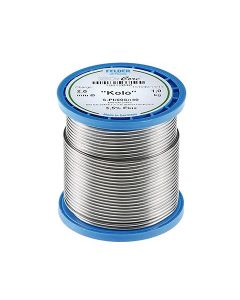 "solder wire d. 1.5mm (40% Sn, 60% Pb)  500g flux 183-235°C ""KOLO"""