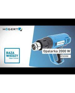 Professional Heat Gun  HT2C550 2000W/230V 300/500I/min HÖGERT