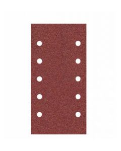 Hiomapaperi aukudega 115x230 (10x10mm) grain 100 G15 VELCRO  KLINGSPOR 116649