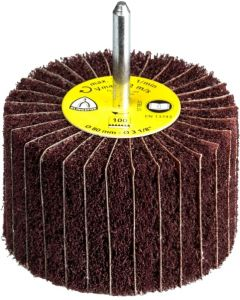 60x  50x6 grit 240 flap wheels from unwoven fabric