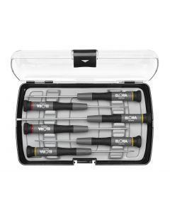 Kruvikeeraja ELEKTRONIK komplekt  5tk(1.5-1.8-2.5-3.0-/PH00-0)plast.kohver No.616-S6 ELORA