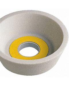 Чашка шлифовальная коническая Тип11  75/53x30x20- 5.5x 8x45 белый A99B F100 K CARBORUNDUM