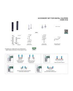 Accessory set for DIGITAL calipers 6144 INOX INSIZE