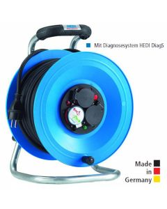 Cable reel  25m PROFESSIONAL rubber H05RR-F3G2.5 K2Y25G2TF HEDI