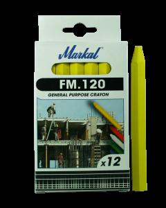 Kriit  FM.120 kollane  MARKAL  44010200