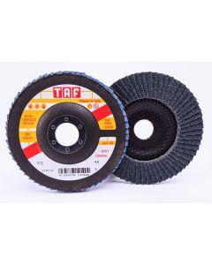 Лепестковые круги 125x22 ZIRCON  40 конический TAF HDZ88 hight density