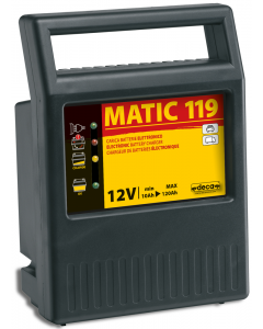 MATIC 119 Fully Automatic Battery Charges 230V/115W 12V/  9A 10/120Ah  DECA