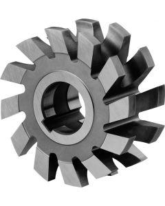 Half circle milling cutter R 4.0 x63x16x22 mm z=12 HSS DIN855 ZPS 820070.040