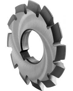 Involute gear cutter 1.0- 50x 16 z=17-20 HSSCo5 DIN3972 ZPS 890075.1003