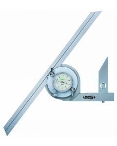 Dial protractor Nr.2373-360   0-360° 300mm INOX INSIZE