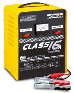 CLASS 16A  Battery Charges 230V/300W  12/24V / 12 A  20/200Ah  DECA