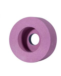 Шлифовальный круг Т5 150x 40x 15.0 1A/ 70x20 розовый A98 F80 K CARBORUNDUM