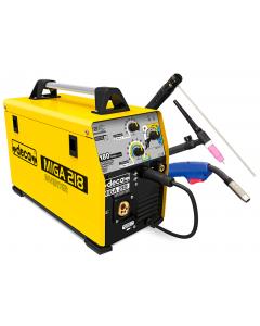 Сварочный аппарат MIGA 218  230V/3.50kW 10-180A (d.0.60-0.9-200mm) inverter DECA 241900