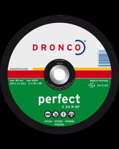 Katkaisulaikka kivi 230x3.0x22 C 24R PERFECT DRONCO 1235015100