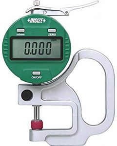 "Thickness Gage 2871-101 DIGITAL 0-10mm/0-0.4"" (0.001/0.00005"") INSIZE"