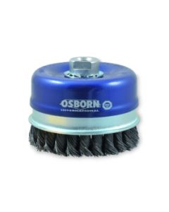 Cup brushes 120 M14x2.0 knotted wire 0.8mm 0088-608185 ECO OSBORN
