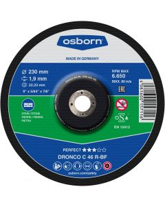 Cutting disc for stone 230x1.9x22 C 46R PERFECT OSBORN/DRONCO 1238250100