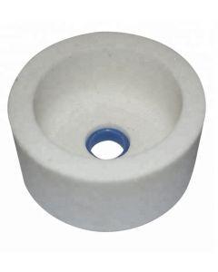 Чашка шлифовальная цилиндрическая Тип 6  75x 40x 20- 5.6x 8 белый A99B F100 K CARBORUNDUM