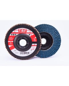 Лепестковые круги 125x22 ZIRCON  40 конический Industrial TAF LPZ6 Industrial