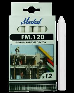 Kriit  FM.120 valge  MARKAL  44010100