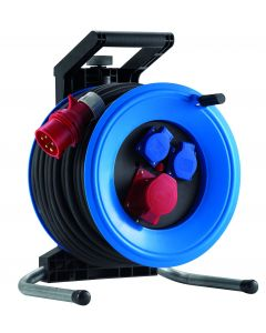 Cable reel  25m Professional Plus 320 neopreen H07RN-F5G4.0 CEE 5x32A,400V K3D2532T4 HEDI