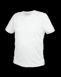 Футболка из VILS хлопка белая 52 HT5K413-L HÖGERT