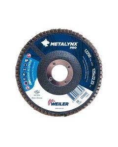 Lamellilaikka 125x22 zircon METALYNX pro  80 flat WEILER 388828