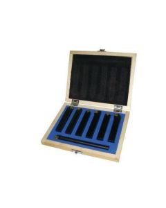 Turning tool set h=12mm  7pcs. 7TLG12HQ HOLZMANN