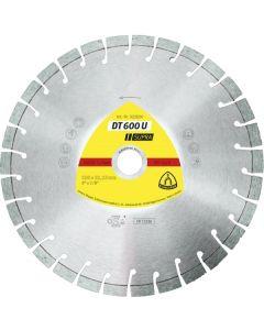Teemantlõikeketas 150x2.4x22 SUPRA DT600 U KLINGSPOR 322632