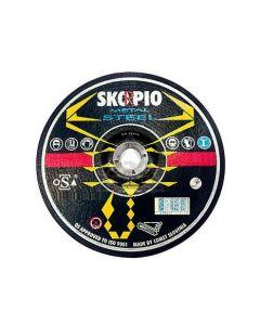 Grinding disc 125x 6.5x22 A 24-BF standart T42 SKORPIO 135632