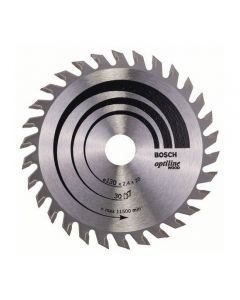 Circular saw blade 130x2.4x16.0mm TCT z=30 BOSCH 2608640583