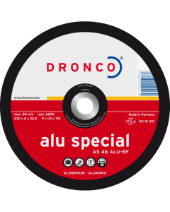 Grinding disc 115x 6.0x22 AS46 ALU superior T42 DRONCO 3116580100