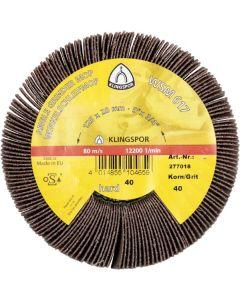 Angle grinder mop 125x20xM12 grit 80 WSM617 Klingspor