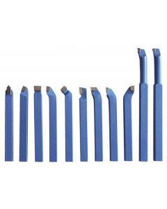 Turning tool set h= 8mm 11pcs. SK8x8mm PROMA 25330808