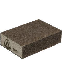 Abrasive block 98x 68x 25 grit 100